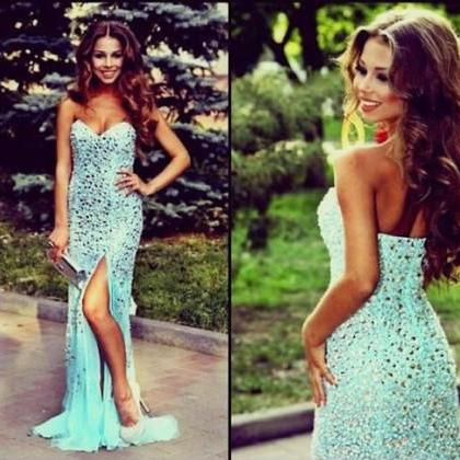 Charming Prom Dress,Sequined Prom D..