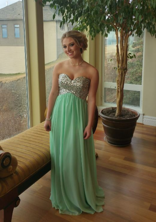 Chiffon Prom Dresses, Halter Evening Dresses, Formal Dresses,BW93275