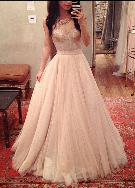 Charming Prom Dress,Sweetheart Prom Dress,A-Line Prom Dress,Noble Prom Dress,Tulle Prom Dress,PD1700073
