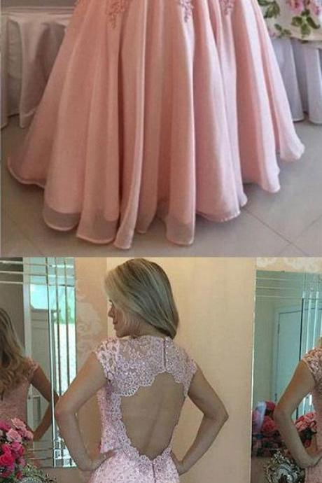 Prom Dress,Backless Prom Dress,Appliques Prom Dress,Mermaid Prom Dress,Long Prom Dress,Evening Dress
