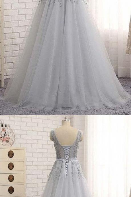 Sexy Beading Prom Dress,Long Prom Dresses,Cheap Prom Dresses, Evening Dress Prom Gowns, Formal Women Dress,Prom Dress