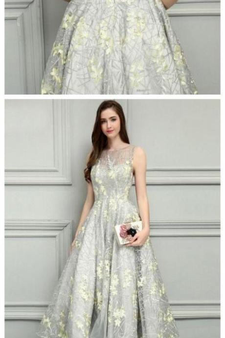 Sexy lace prom dresses ankle length prom dress sexy Bridesmaid Dresses