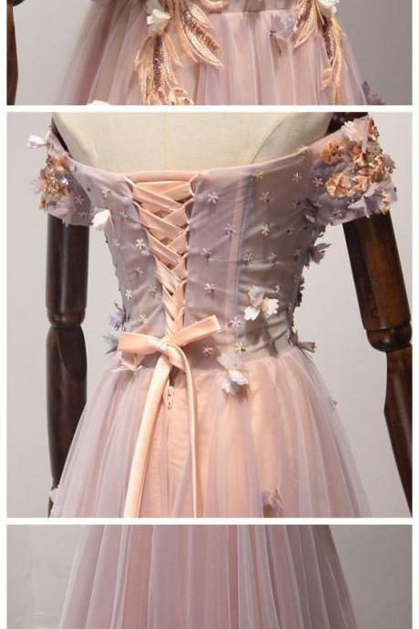 Charming Prom Dress, Long Prom Dresses, off the shoulder Evening Dress