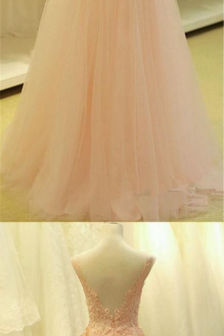 Tulle Prom Dresses,Pink Prom Dress,Modest Prom Gown,Tulle Prom Gowns,Evening Dress,Princess Evening Gowns,Party Gowns