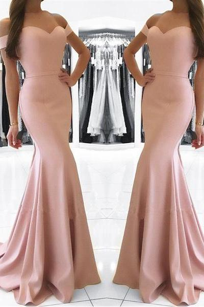 Charming Prom Dress, Mermaid Prom Dresses , Long Evening Dress