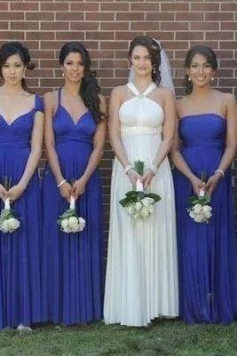 Chiffon Bridesmaid Dresses,Mismatched Bridesmaid Dresses,BW93132