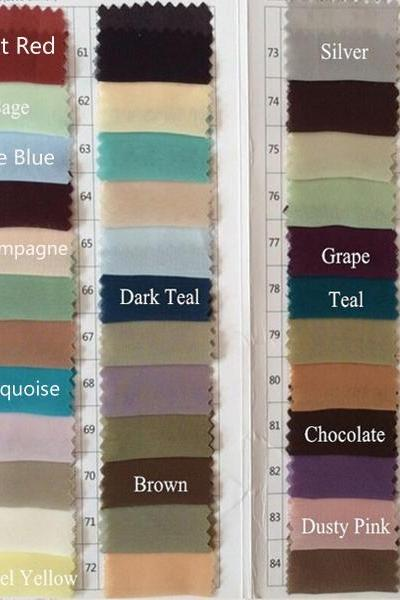 Fabric swatch, Fabric sample sent by Express (Please leave STYLE number and color number in note list).