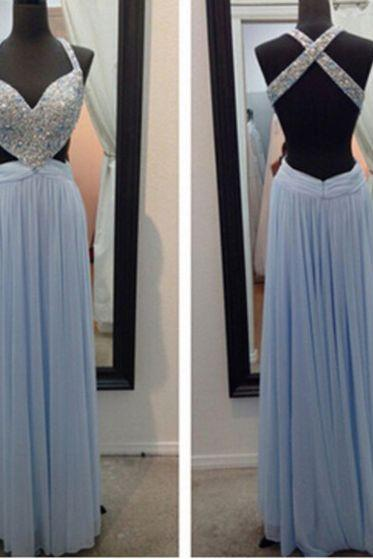 Charming Prom Dress,V-Neck Prom Dress,Noble Prom Dress,Beading Prom Dress,A-Line Evening Dress,PD1700024