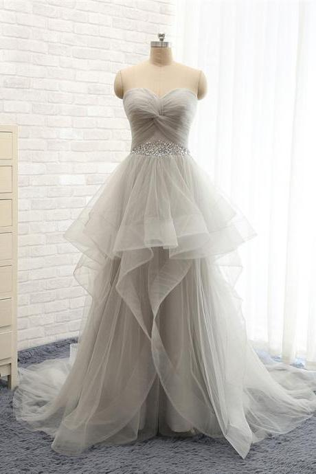Charming Prom Dress,Sweetheart Prom Dress,A-Line Prom Dress,Tulle Prom Dress,Beading Evening Dress,PD1700037