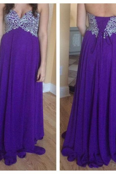 Charming Prom Dress,Sweetheart Prom Dress,A-Line Prom Dress,Appliques Prom Dress,Chiffon Prom Dress,PD1700088