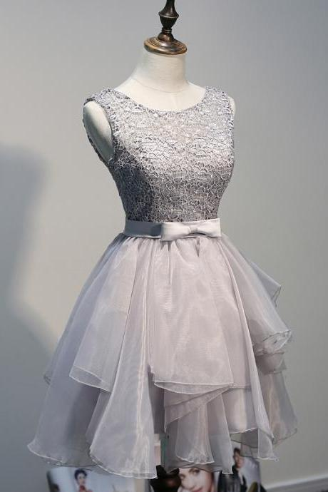 Charming Homecoming Dress,Organza Homecoming Dress,Lace Homecoming Dress,Noble Homecoming Dress,PD1700236