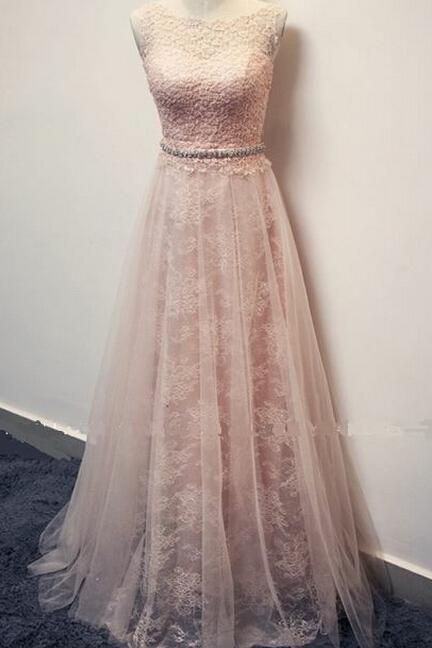 High Quality Prom Dress,A-Line Prom Dress,Lace Prom Dress,O-Neck Prom Dress, Brief Prom Dress,PD1700244