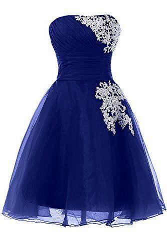 Charming Homecoming Dress,Organza Homecoming Dress,Appliques Homecoming Dress,Noble Homecoming Dress,PD1700256
