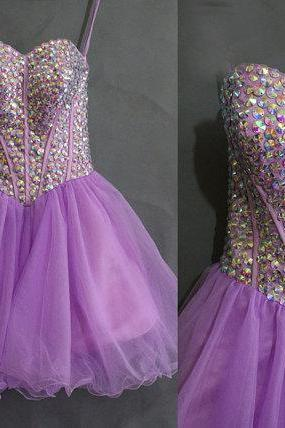 Charming Homecoming Dress,Organza Homecoming Dress,Beading Homecoming Dress,Sweetheart Homecoming Dress,PD1700268