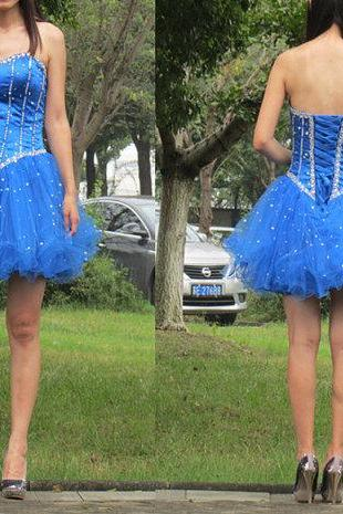 Charming Homecoming Dress,Beading Homecoming Dress,Organza Homecoming Dress, Cute Short Prom Dress,PD1700338