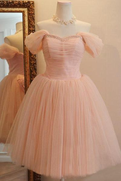 Charming Homecoming Dress,A-Line Homecoming Dress,Tulle Homecoming Dress, Noble Short Prom Dress,PD1700392