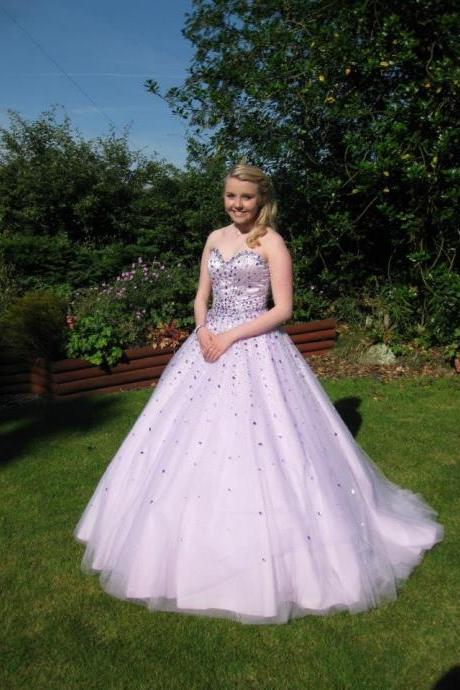 High Quality Prom Dress,Sweetheart Prom Dress,A-Line Prom Dress,Sequined Prom Dress,Noble Prom Dress,PD1700417