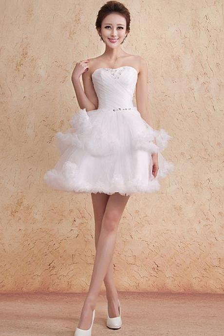 High Quality Graduation Dress,Cute Graduation Dress,Short Graduation Dress,Tulle Graduation Dress,PD1700447