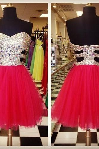 Charming Homecoming Dress,Sequined Homecoming Dress,Short Homecoming Dress,PD1700559