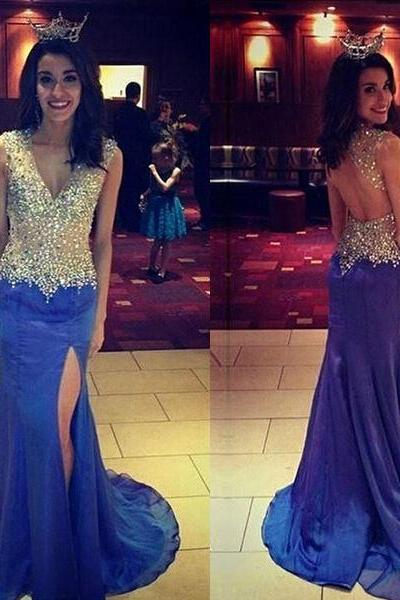 Long Prom Dress, Off Shoulder Prom Dress, V-Neck Prom Dress, Backless Prom Dress, Junior Prom Dress, Modest Prom Dress, Evening Dress,PD1700732