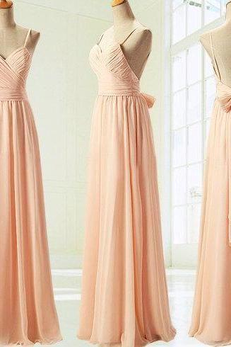 champagne bridesmaid dresses, off shoulder bridesmaid dresses, long bridesmaid dresses, cute bridesmaid dresses, simple bridesmaid dresses, PD1601