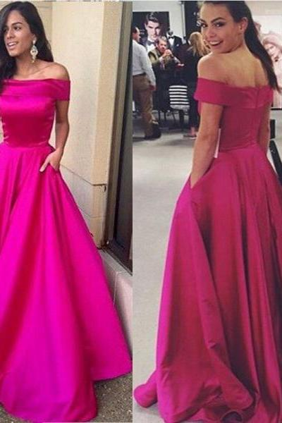 Prom Dress, Prom Dresses, Off-the-shoulder Prom Dress, A-line Prom Dress, Long Prom Dress, Party Dress, Long Party Dress,PD1700785