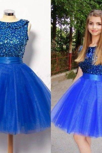 Graduation DressesFashion DressesTulle DressesSequined DressesRoyal