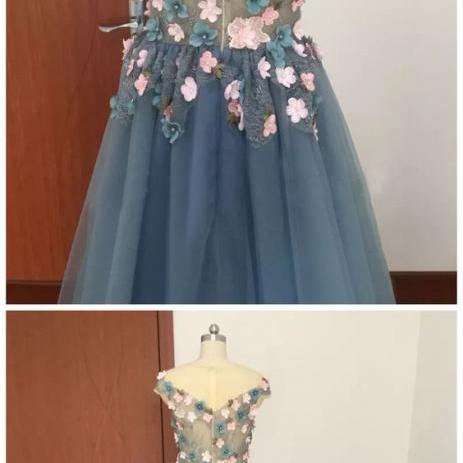 Appliques A-Line Prom Dress,Long Prom Dresses,Prom Dresses,Evening Dress, Evening Dresses,Prom Gowns, Formal Women Dress,prom dress