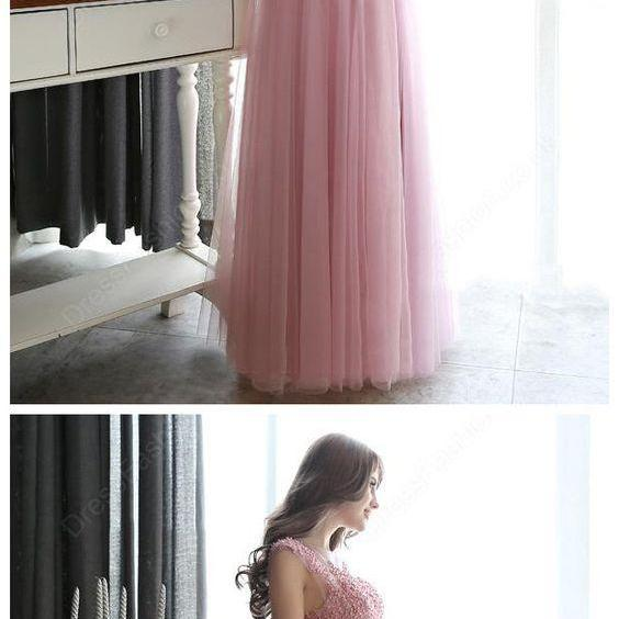 Beading Tulle Prom Dress,Prom Dresses,Prom Dresses,Evening Dress, Evening Dresses,Prom Gowns, Formal Women Dress